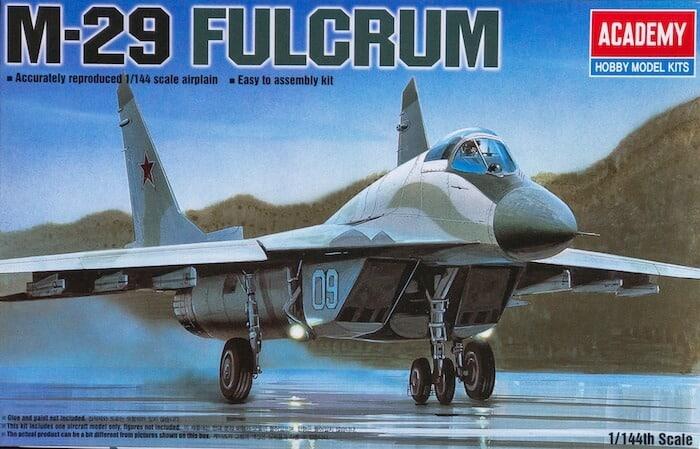 โมเดลเครื่องบิน MIG-29 FULCRUM (1/144)