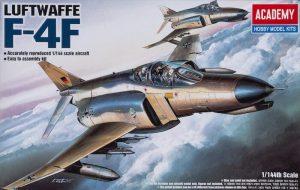 โมเดลเครื่องบิน F-4F PHANTOM (1/144)