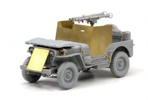 โมเดลจิ๊บ Dragon DR6748 4x4 Armored Truck w/Bazooka 1/35