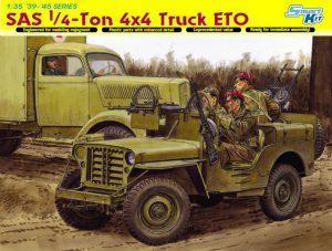 DGM6725 SAS1/4-Ton 4x4 Truck ETO