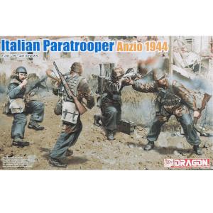 โมเดลฟิกเกอร์ดราก้อน ITALIAN PARATROOPER ANZIO 1944 1/35