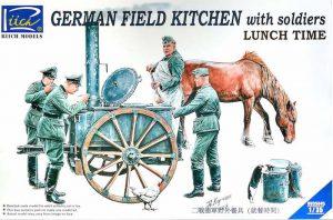 โมเดลประกอบ German Field Kitchen Scenery