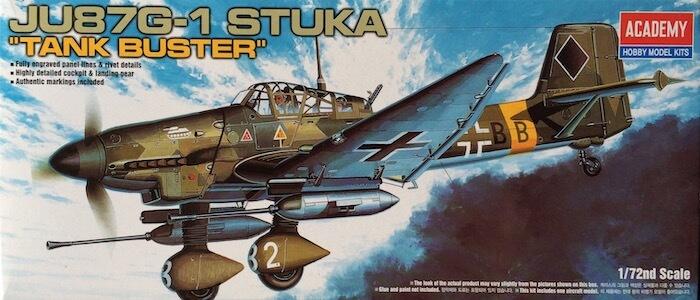 โมเดลเครื่องบิน JU-87G STUKA (1/72)