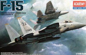 โมเดลเครื่องบิน F-15 EAGLE (1/144)