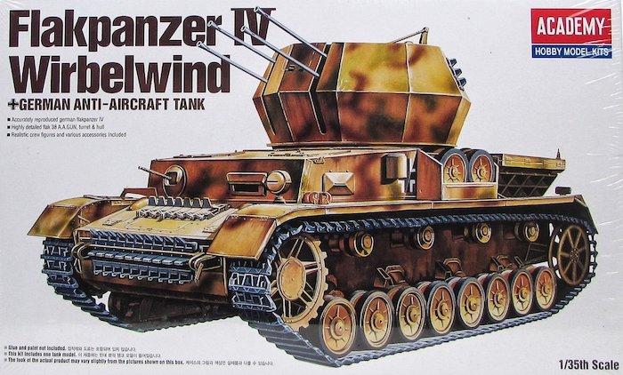 รถถังอะคาเดมี ACADEMY 13233 FLAKPANZER IV WIRBELWIND 1/35