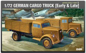 โมเดลรถบรรทุก GERMAN CARGO TRUCK(Early&Late) (1/72)