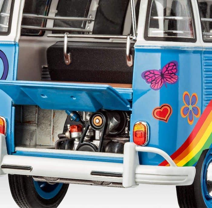 โมเดลรถโฟล์คตู้ VW T1 Samba Bus