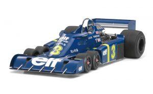 โมเดลรถเอฟวัน Tyrrell P34 1976 (w/PHOTO-ETCHED PARTS) 1/20
