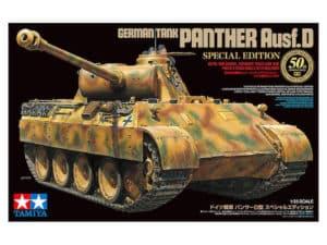 โมเดลรถถังแพนเธอร์ PANTHER Ausf.D SPECIAL EDITION 1/35