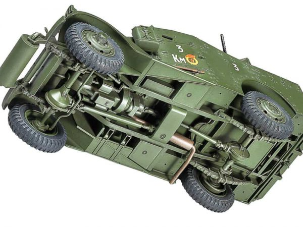 โมเดลรถทหาร M3A1 SCOUT CAR 1/35