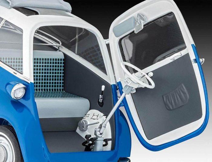 โมเดลรถบีเอ็มคลาสิก BMW Isetta 250 ( 1/16 )