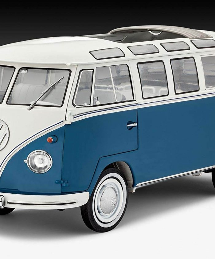 โมเดลรถโฟล์คตู้ Volkswagen T1 Samba Bus 1/16