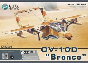 โมเดลเครื่องบิน KittyHawk OV-10D Bronco (1/32)