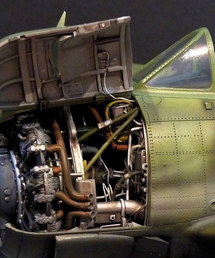 """โมเดลเครื่องบิน Kittyhawk T-28B/D """"Zorro"""" Trojan (1/32)"""