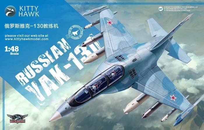 โมเดลเครื่องบิน Kittyhawk Russian Yak-130 1/48
