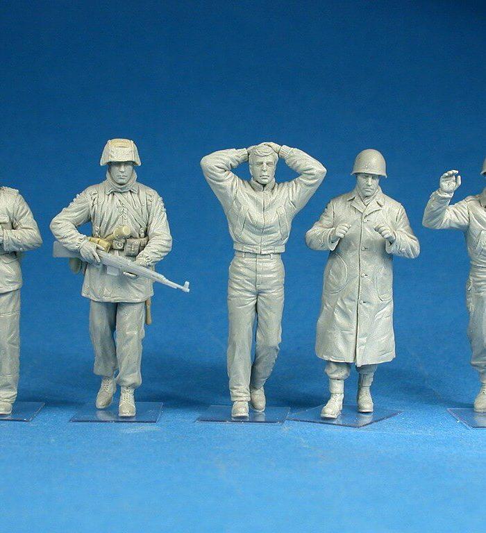 """โมเดลฟิกเกอร์ """"Battle of the Bulge"""" ARDENNES 1944 1:35"""
