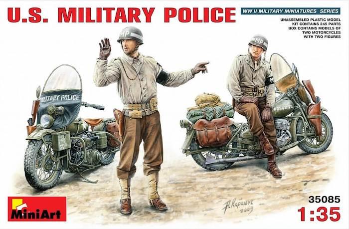 โมเดลฟิกเกอร์ U.S. MILITARY POLICE 1:35