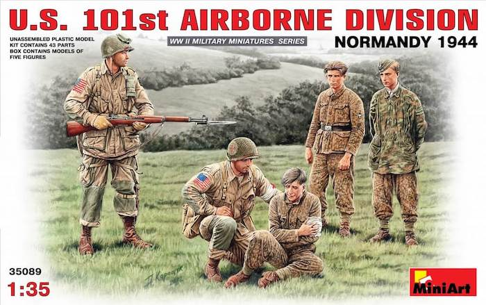 โมเดลฟิกเกอร์ U.S. 101st AIRBORNE DIVISION (NORMANDY 1944) 1:35