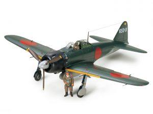 โมเดลเครื่องบิน A6M5 ZERO FIGHTER MODEL 52 (ZEKE) 1:32