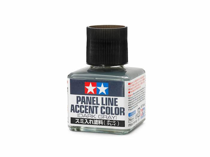 น้ำยาตัดเส้น Panel Line Accent Color (Dark Gray)