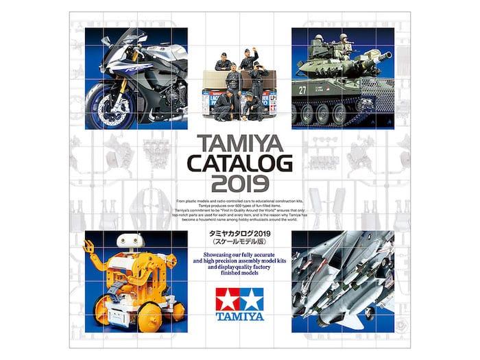 หนังสือแคตตาล็อก TAMIYA CATALOG (SCALE MODELS) 2019