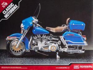 โมเดลรถฮาเล่ย์ Academy Harley Davidson Classic 1:10