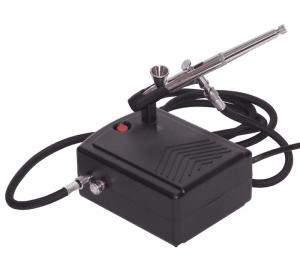 แอร์บรัช + ปั้มลมในตัว BD-207 ( 0.2 มม)