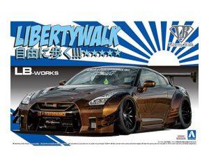 โมเดลรถ Aoshima LB WORKS R35 GT-R type 2 Ver.1