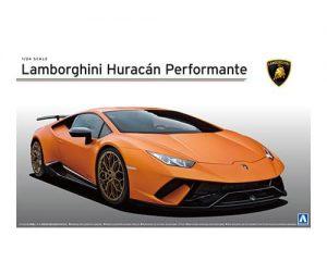 โมเดลรถแลมโบ Aoshima Lamborghini Huracan performante