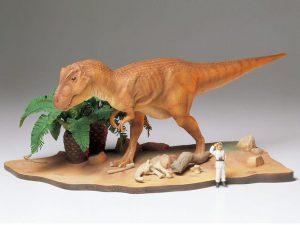 โมเดลไดโนเสาร์ TAMIYA TA60102 Tyrannosaurus Diorama Set 1:35