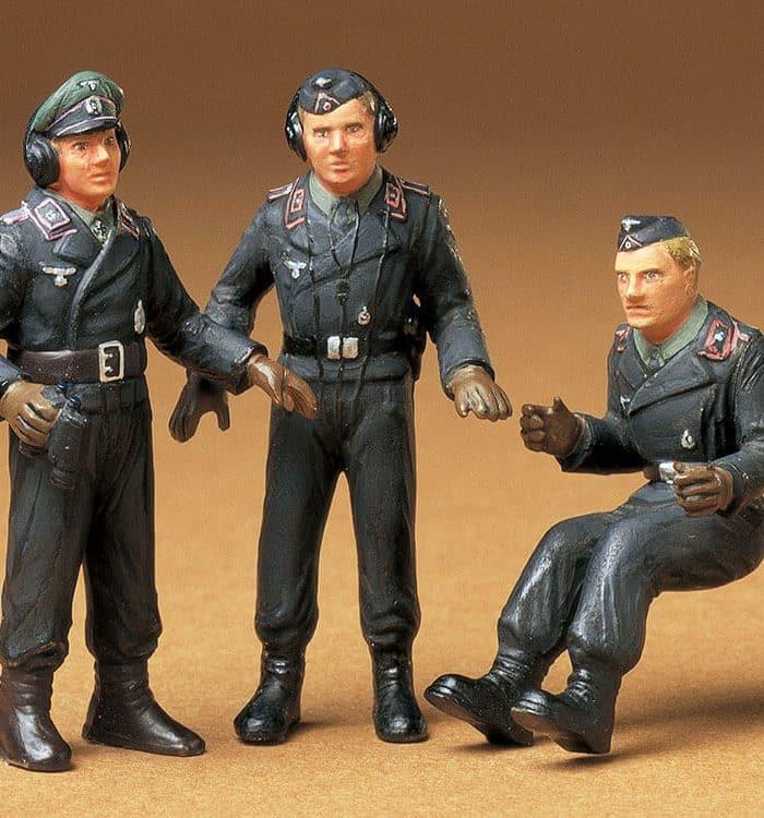 โมเดลฟิกเกอร์ทหาร GERMAN ARMY TANK CREW 1:35