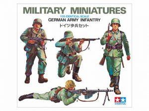 โมเดลฟิกเกอร์เยอรมัน GER. ARMY INFANTRY 1:35