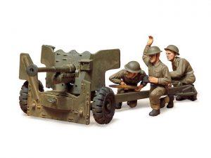 TAMIYA 35005 BRITISH ARMY 6POUNDER ANTI-TANK 1/35