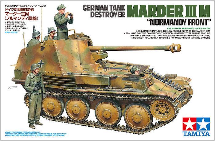 โมเดลรถถังมาร์เดอร์ 3 MARDER III M NORMANDY FRONT 1:35