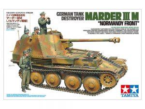 """โมเดลรถถังมาร์เดอร์ 3 MARDER III M """"NORMANDY FRONT"""" 1:35"""