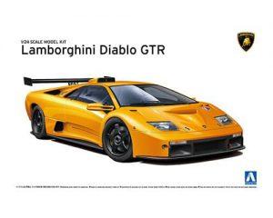โมเดลรถแลมโบ LAMBORGHINI DIABLO GTR ( 1:24 )