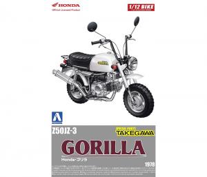 โมเดลฮอนด้า กอริลล่า Aoshima Honda GORILA Takegawa Ver.1