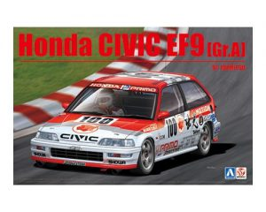โมเดลฮอนด้า Aoshima Honda Civic EF9 Gr.A '91 ( 1:24 )