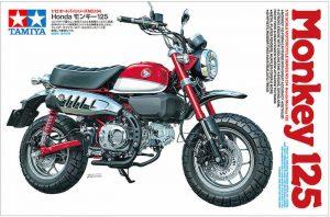 โมเดลฮอนด้ามังกี้ Tamiya Honda Monkey125 1:12