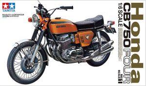 โมเดลมอเตอร์ไซค์ Honda Dream CB750 FOUR 1:6