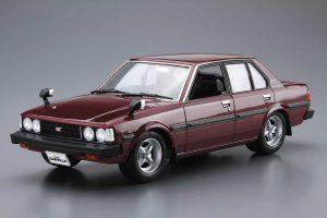 โมเดลรถ AOSHIMA TOYOTA E70 COROLLA Sedan GT/DX 1979