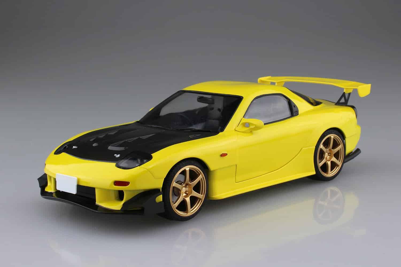 โมเดลรถ AOSHIMA TAKAHASHI KEISUKE FD3S RX-7 PROJECT D Ver.