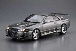 โมเดลรถนิสสัน AOSHIMA VeilSide BNR32 SKYLINE GT-R '90