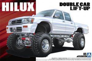โมเดลรถกระบะ HILUX PICKUP DOUBLE CAB LIFT UP '94 1/24