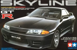โมเดลประกอบ รถยนต์ทามิย่า Nissan Skyline GTR R32 1/24