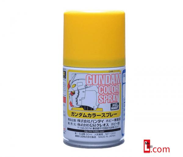 สีสเปรย์กันดั้ม SG03 MS Yellow (Semi-Gloss) 100ml