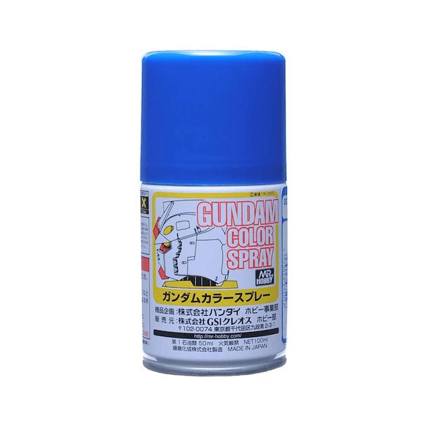 สีสเปรย์กันดั้ม SG02 MS Blue (Semi-Gloss) 100ml