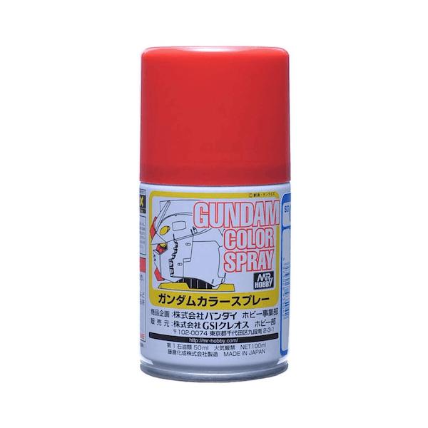 สีสเปรย์กันดั้ม SG04 MS Red (Semi-Gloss) 100ml