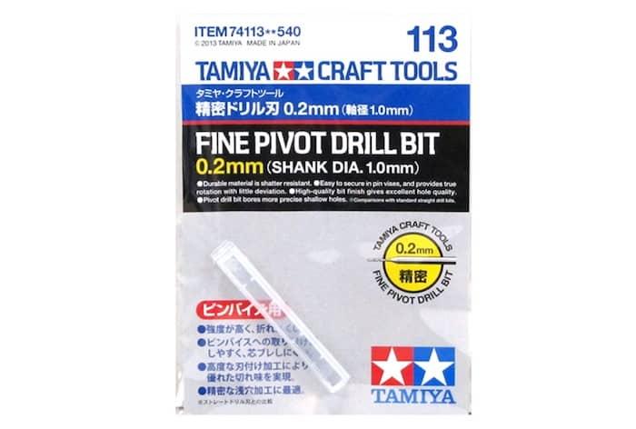 ดอกสว่านมือ TA74113 FINE PIVOT DRILL BIT ขนาด 0.2 mm
