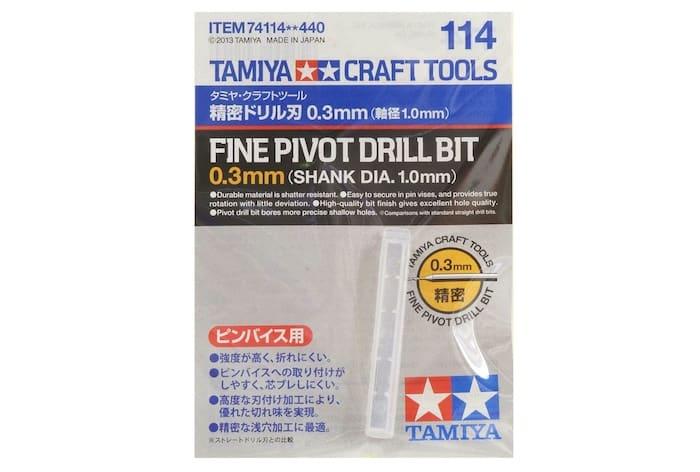 ดอกสว่านมือ TA74114 FINE PIVOT DRILL BIT ขนาด 0.3 mm